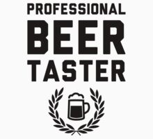 Professional Beer Taster by Look Human
