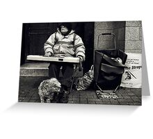 save the cats Greeting Card