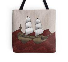 Galleon Tote Bag