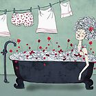 Christmas in the bath by Grikis