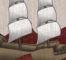 Galleon Sticker