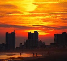 Cherry Grove Sunset III by jazyjuel