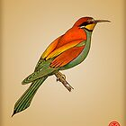 Bee-eater by mongogushi