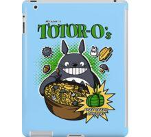 Totoro's Cereal iPad Case/Skin