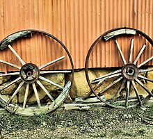 Wagon Wheels by Skyangel