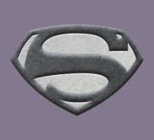 George Reeves '50s Shield - Textured B&W Version by HankTheTurtle