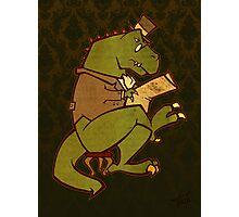 Gentleman T-Rex Photographic Print
