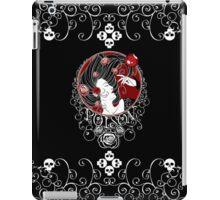 Poison - Black Rose on Black iPad Case/Skin