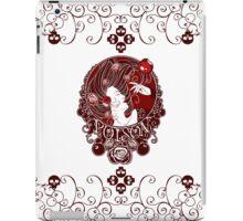 Poison - Blood Rose on White iPad Case/Skin