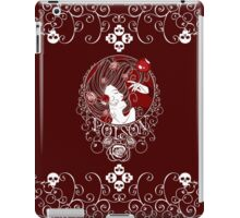 Poison - Blood Rose on Red iPad Case/Skin