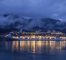 The Island Princess - Juneau by Ron Finkel