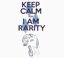 Keep Calm for I am rarity  by GoldFox21