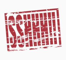 Sshhh! Red rubber stamp effect by stuwdamdorp