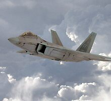 F-22 Raptor by J Biggadike