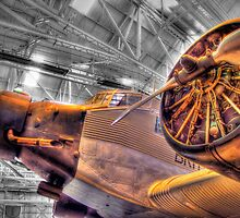 Junkers Ju52/3M - Cosford - HDR by Colin J Williams Photography