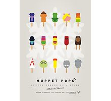 My MUPPET ICE POP - UNIVERS Photographic Print