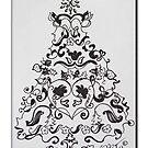 Christmas Tree 13-2 by Sabine Jacobsen [SJArt]