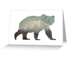 Denali Bear Greeting Card