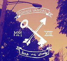 Former Vandal - Keep Me Steady IPHONE CASE by quinnwentz777