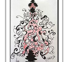 Christmas Tree 13-4 by Sabine Jacobsen [SJArt]