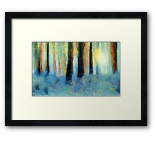 Bluebell Wood'... Framed Print