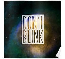 Doctor Who - Don't Blink Poster