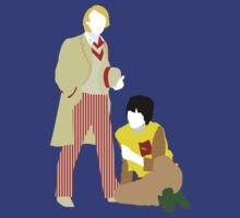 Five and Adric - Doctor Who by Ebonrook