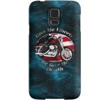 Harley Davidson Sportster Give Me Liberty Samsung Galaxy Case/Skin