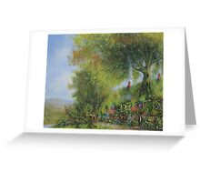 A Long Expected Party (Waiting For The Post) Greeting Card