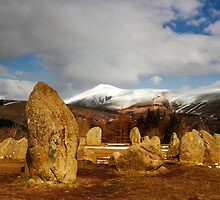 Stones and Skiddaw by Jeanie