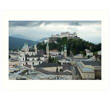 Salzburg Austria Art Print