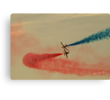 Red Arrows at Cowes Week Canvas Print