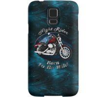 Harley Davidson Sportster Night Rider Samsung Galaxy Case/Skin