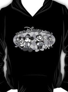 Super Disney World (black and white edition) T-Shirt