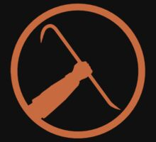 Half Life Crowbar (Shirt/Sticker)  by FOEMerch