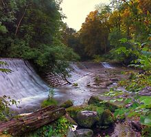 Panoramic HDR Sunrise, Colinton Dell. Edinburgh by Miles Gray