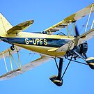 Waco UPS-7 biplane by Mark Baldwyn