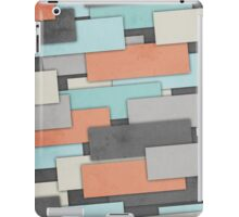 Textured Geometric Abstract iPad Case/Skin