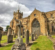 Panoramic View of The Parish Church of Linlithgow, St Michael's by Miles Gray
