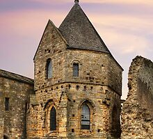 Inchcolm Abbey: Chapter and Warming House by Miles Gray