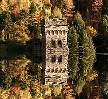 East Tower Reflections by Nigel Hatton, Derwent Digital Imaging