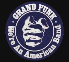 Grand Funk Railroad Vintage Tribute T shirt. 2. by RussellK99