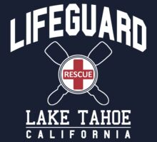 Lifeguard LAKE TAHOE California by robotface
