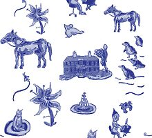 delft mansion pattern by suitgraphic