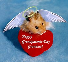 Grandparents Day Grandma Hamster by jkartlife
