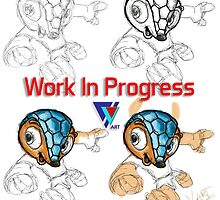 Work In Progress by V-Art