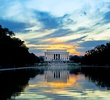 Lincoln Memorial in Washington DC by Ken Howard