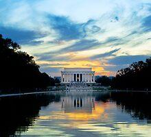 Lincoln Memorial in Washington DC by Ken Howard