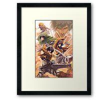 Titans!! Framed Print