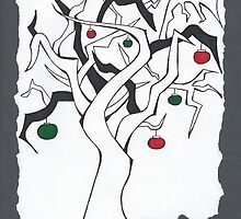 Christmas Twisted Tree by Blair Chranowski
